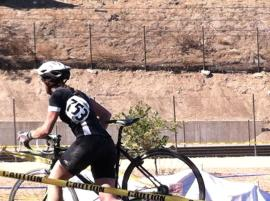 I actually got ran over in my first real cyclocross race. Ran. Over. Yup.